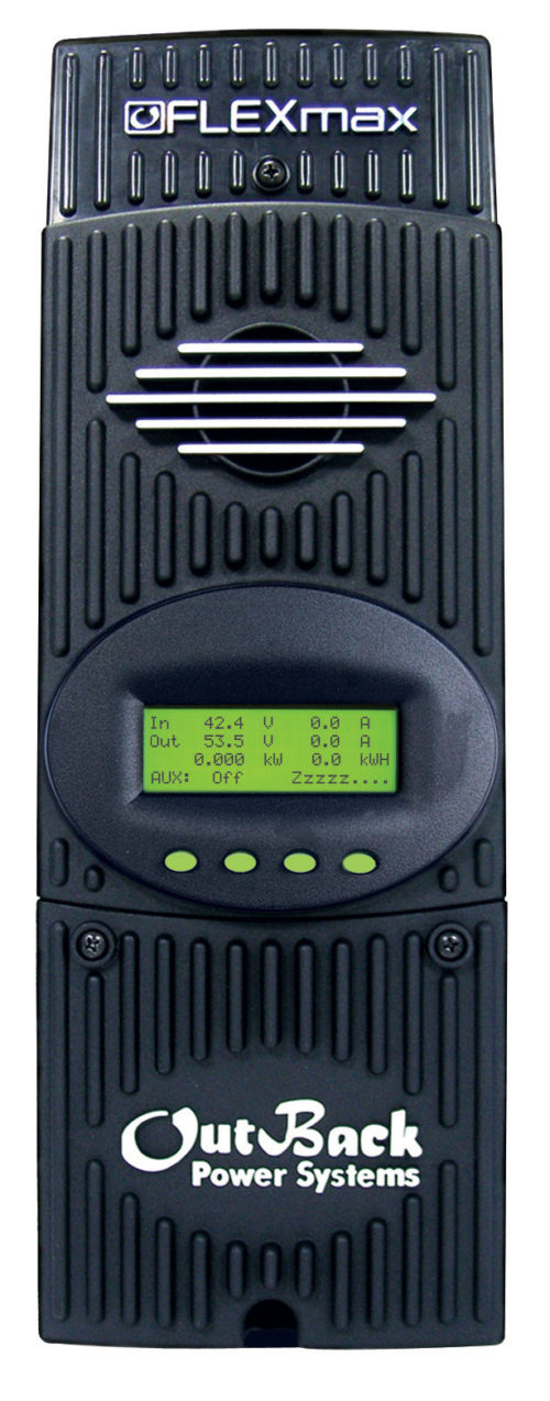 OutBack's FM80 charge controller