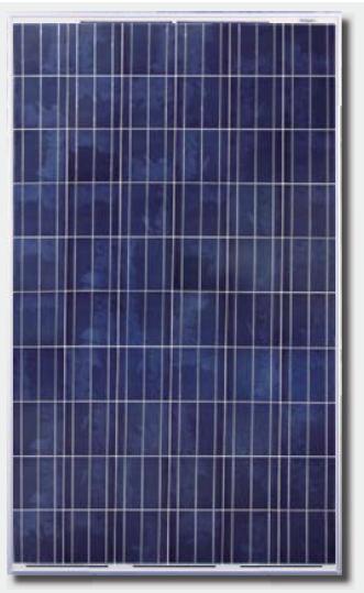 Canadian Solar Cs6p 250p Solar Panel Black Frame