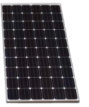 Suniva OPT265-60-4-100 Monocrystalline solar panel with clear frame