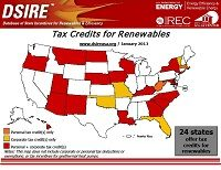 Database of State Incentives and Tax Credits for Renewables & Efficiency