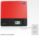 SMA Sunny Boy transformerless inverter with Secure Power Supply