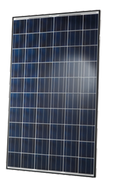 Q Cells poly PV module with black frame, BFR-G3