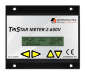 Morningstar TriStar Digital Meter designed for use with the Morningstar TS MPPT high voltage charge controllers