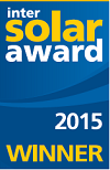 REC TwinPeak InterSolar 2015 Award Winner