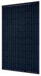 SolarWorld Sunmodule Plus 285 watt monocrystalline panel with black frame and black background (BOB)