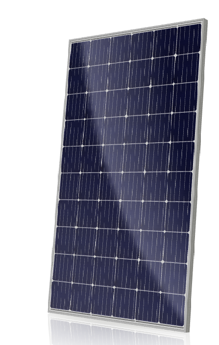 CS6K-MS SuperPower solar panel module with the latest PERC technology and high PTC rating