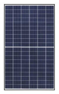 Twinpeak2 solar panel from REC with black frame