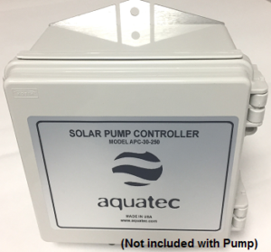 Aquatec APC controller (not included with pump)