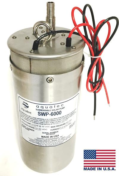 Aquatec SWP-6000 deep well pump.