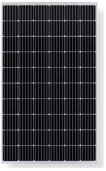 LONGI Solar LR6-60 Mono solar module with black frame