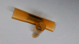 Waterproof connectors included with pump