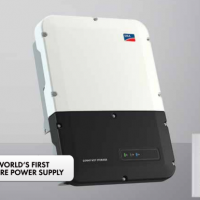 SMA Storage inverters from 3800 to 6000 watts of power and compatibility with leading high voltage lithium batteries