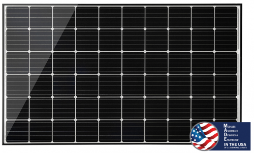 Mission Solar panel MSE305SQ5K, BOW module suitable for range of applications