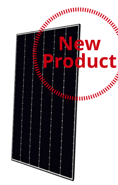 BOB Canadian Solar panel with small format and high density cells