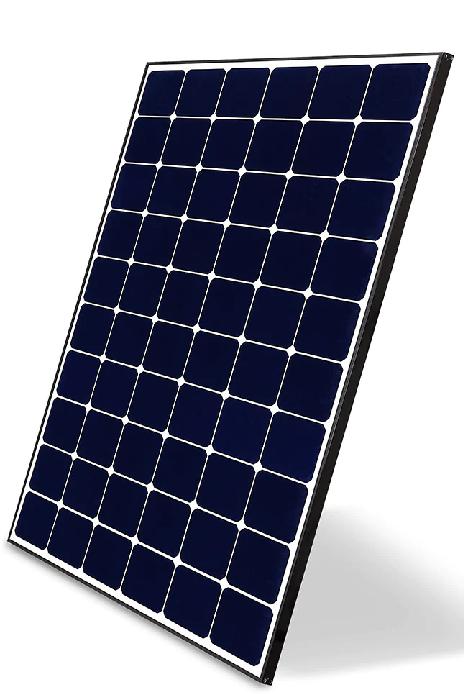 LGQ1C-V5-370 with black frame on white backing