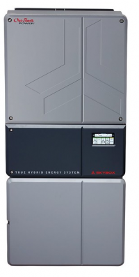 OutBack Skybox hybrid inverter with 5000 watts and built -in battery monitoring
