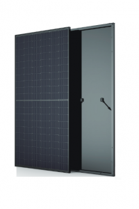 Trina 310 watt solar panel with black frame and backsheet