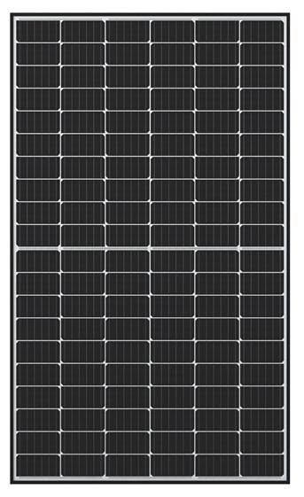 Q.Peak Duo G6+ solar panel with black frame
